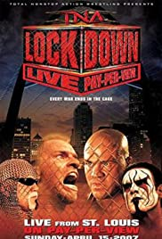 TNA Wrestling: Lockdown Poster