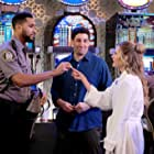 Jason Biggs, Maggie Lawson, and Royal Binion in Outmatched (2020)