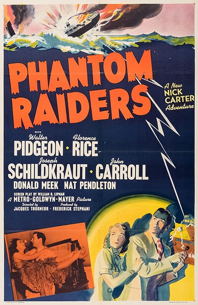 Steffi Duna, Walter Pidgeon, and Florence Rice in Phantom Raiders (1940)