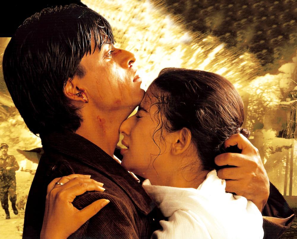Shah Rukh Khan and Manisha Koirala in Dil Se.. (1998)