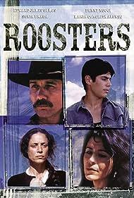 Maria Conchita Alonso, Sônia Braga, Danny Nucci, and Edward James Olmos in Roosters (1993)