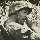 Robert Ryan in Men in War (1957)
