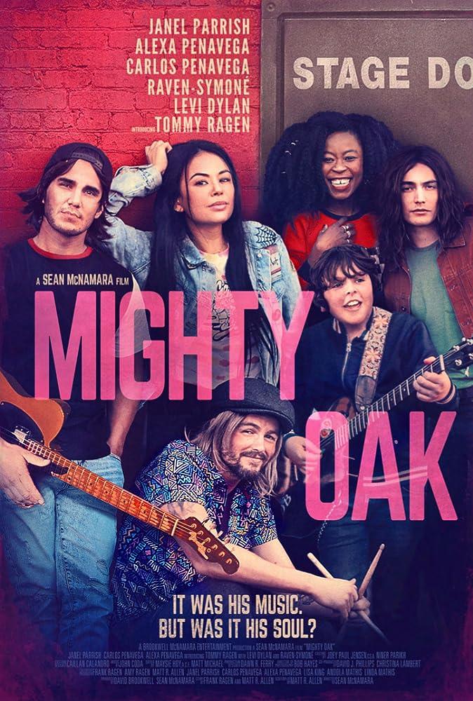 Janel Parrish, Raven-Symoné, Alexa PenaVega, Levi Dylan, Carlos PenaVega, and Tommy Ragen in Mighty Oak