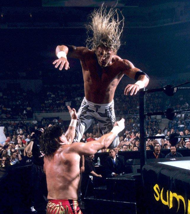 Adam Copeland and Eddie Guerrero in Summerslam (2002)