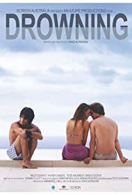 Miles Szanto, Xavier Samuel, and Tess Haubrich in Drowning (2009)