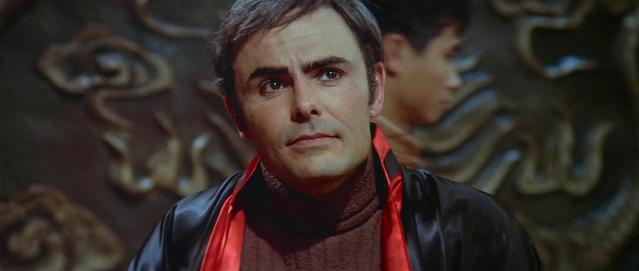 John Saxon in Enter the Dragon (1973)