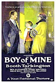 Ben Alexander, Irene Rich, and Henry B. Walthall in Boy of Mine (1923)