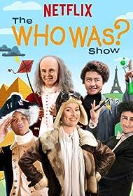 Bentley Green, Haley Tju, Kirrilee Berger, Adam Hochstetter, and Zach Timson in The Who Was? Show (2018)