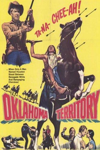 Ted de Corsia, Gloria Talbott, and Bill Williams in Oklahoma Territory (1960)
