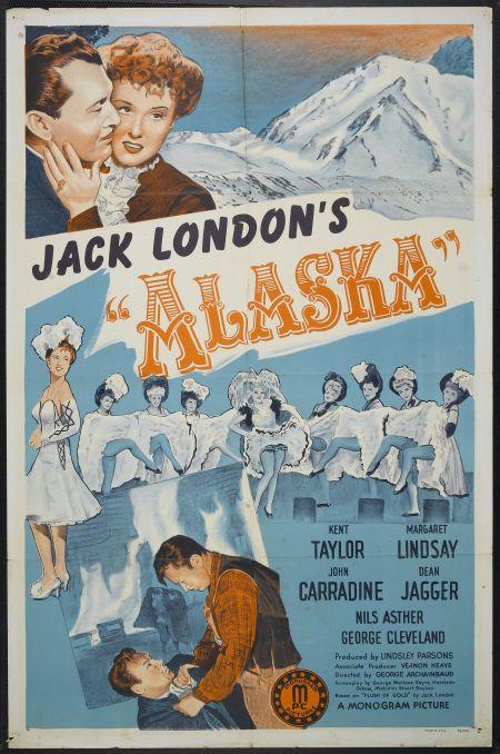 John Carradine, Dean Jagger, Margaret Lindsay, and Kent Taylor in Alaska (1944)