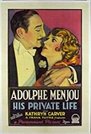 His Private Life Poster