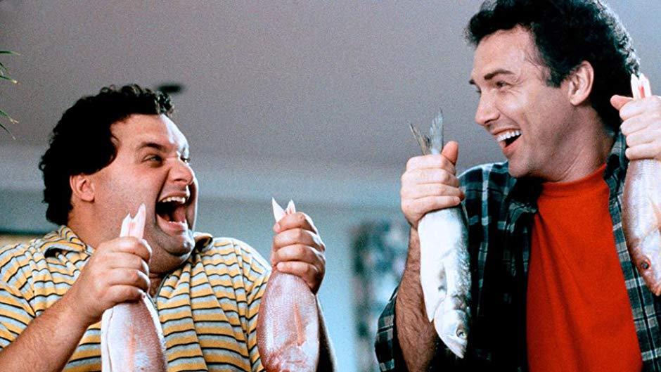 Artie Lange and Norm MacDonald in Dirty Work (1998)