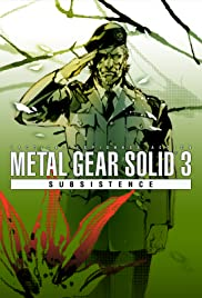 Metal Gear Solid 3: Subsistence Poster