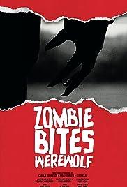 Zombie Bites Werewolf Poster