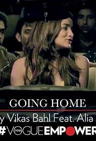Alia Bhatt in Going Home (2014)