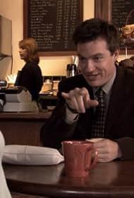 Jason Bateman and Judy Greer in Arrested Development (2003)