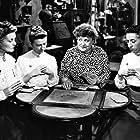 Margaret Hamilton, Florence Bates, Moyna MacGill, and Irene Ryan in Texas, Brooklyn & Heaven (1948)