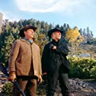 Robert Mitchum and George Kennedy in The Good Guys and the Bad Guys (1969)