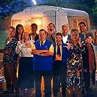 Annette Crosbie, Phil Davis, Jason Donovan, Joanna Page, Johnny Vegas, Sally Lindsay, Sian Gibson, John Macmillan, Mike Wozniak, Jason Forbes, and Ambreen Razia in Dial M for Middlesbrough (2019)
