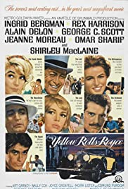 The Yellow Rolls-Royce (1964) Poster - Movie Forum, Cast, Reviews