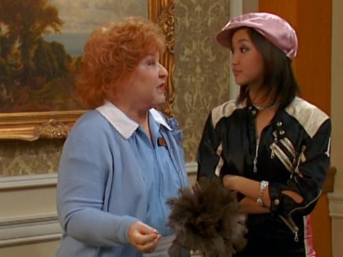 Estelle Harris and Brenda Song in The Suite Life of Zack & Cody (2005)