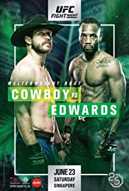UFC Fight Night: Cowboy vs. Edwards Poster