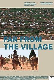 Au loin des villages Poster