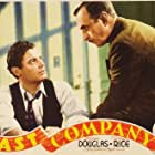 Douglass Dumbrille and Shepperd Strudwick in Fast Company (1938)