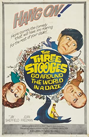 Where to stream The Three Stooges Go Around the World in a Daze