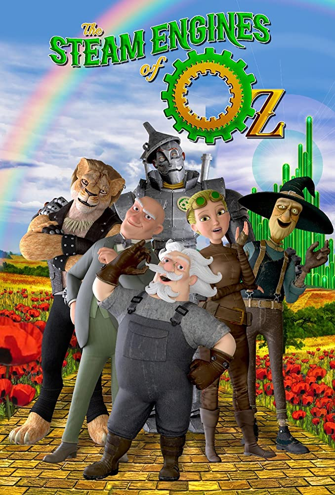 The Steam Engines of Oz Movie Poster