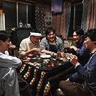 Ryûhei Matsuda, Kiyohiko Shibukawa, Shôta Sometani, and Kento Nagayama in Nakimushi Shottan no kiseki (2018)