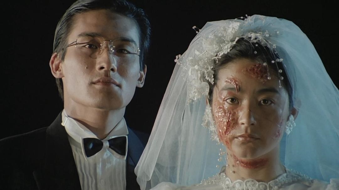 Tony Ka Fai Leung and Brigitte Lin in Duet ming ga yan (1987)