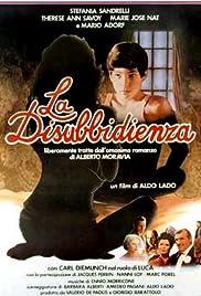 La disubbidienza(1981) Poster - Movie Forum, Cast, Reviews