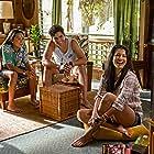 Kelly Hu, Alex Aiono, and Kea Peahu in Finding 'Ohana (2021)