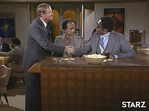 Ed Cambridge, Franklin Cover, and Sherman Hemsley in The Jeffersons (1975)