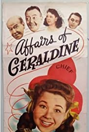 Affairs of Geraldine Poster