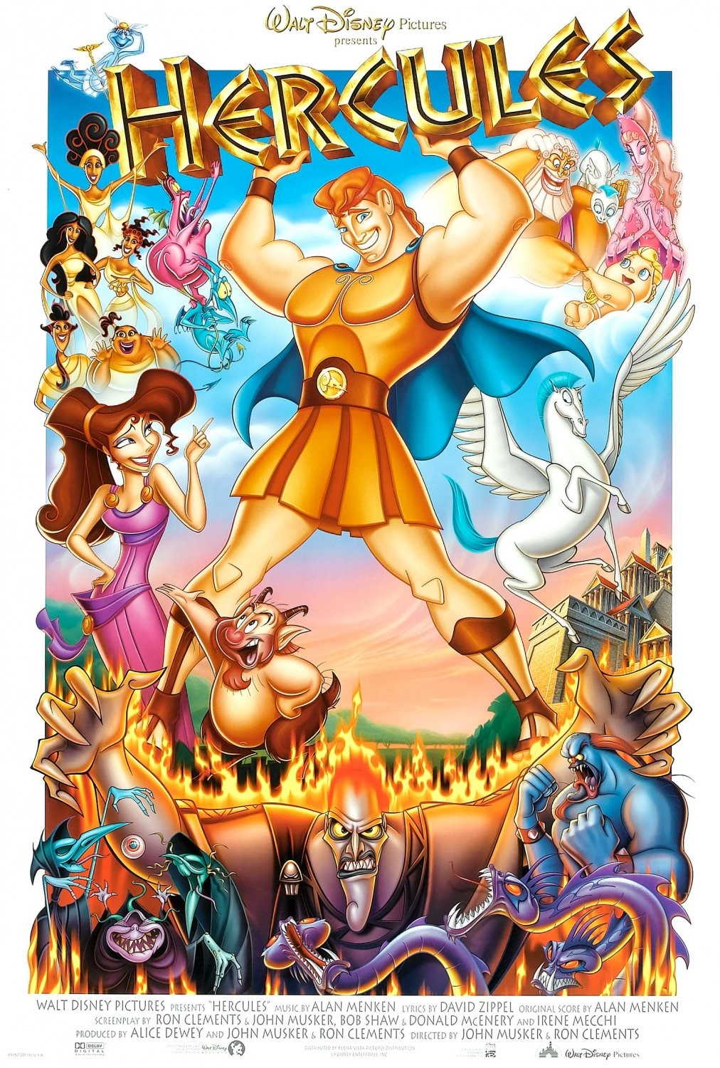 Hercules (1997) BluRay 480p, 720p & 1080p
