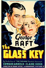 Claire Dodd and George Raft in The Glass Key (1935)