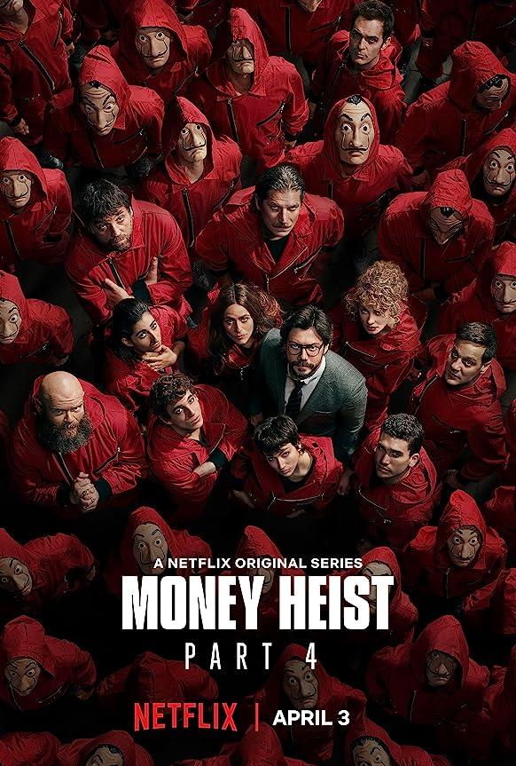 Money Heist (2020) Season 4 Hindi Dubbed (Netflix)