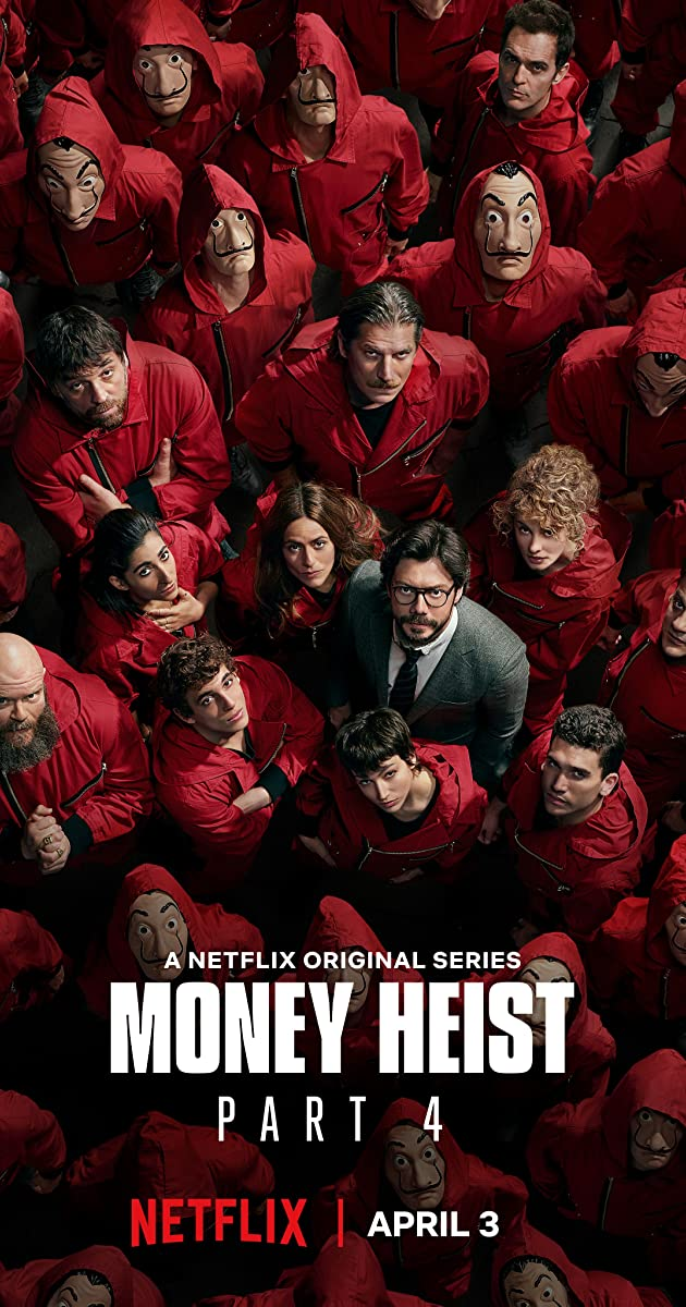 Money Heist 2020 S04 Complete Hindi NF Series 720p HEVC HDRip 1.7GB Download