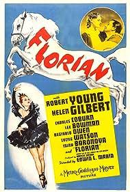 Robert Young, Irina Baronova, and Helen Gilbert in Florian (1940)