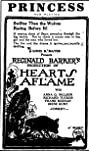 Hearts Aflame (1922) Poster