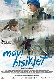 Mavi bisiklet Poster