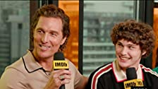 Matthew McConaughey Takes 'White Boy Rick' Newcomer Under His Wing