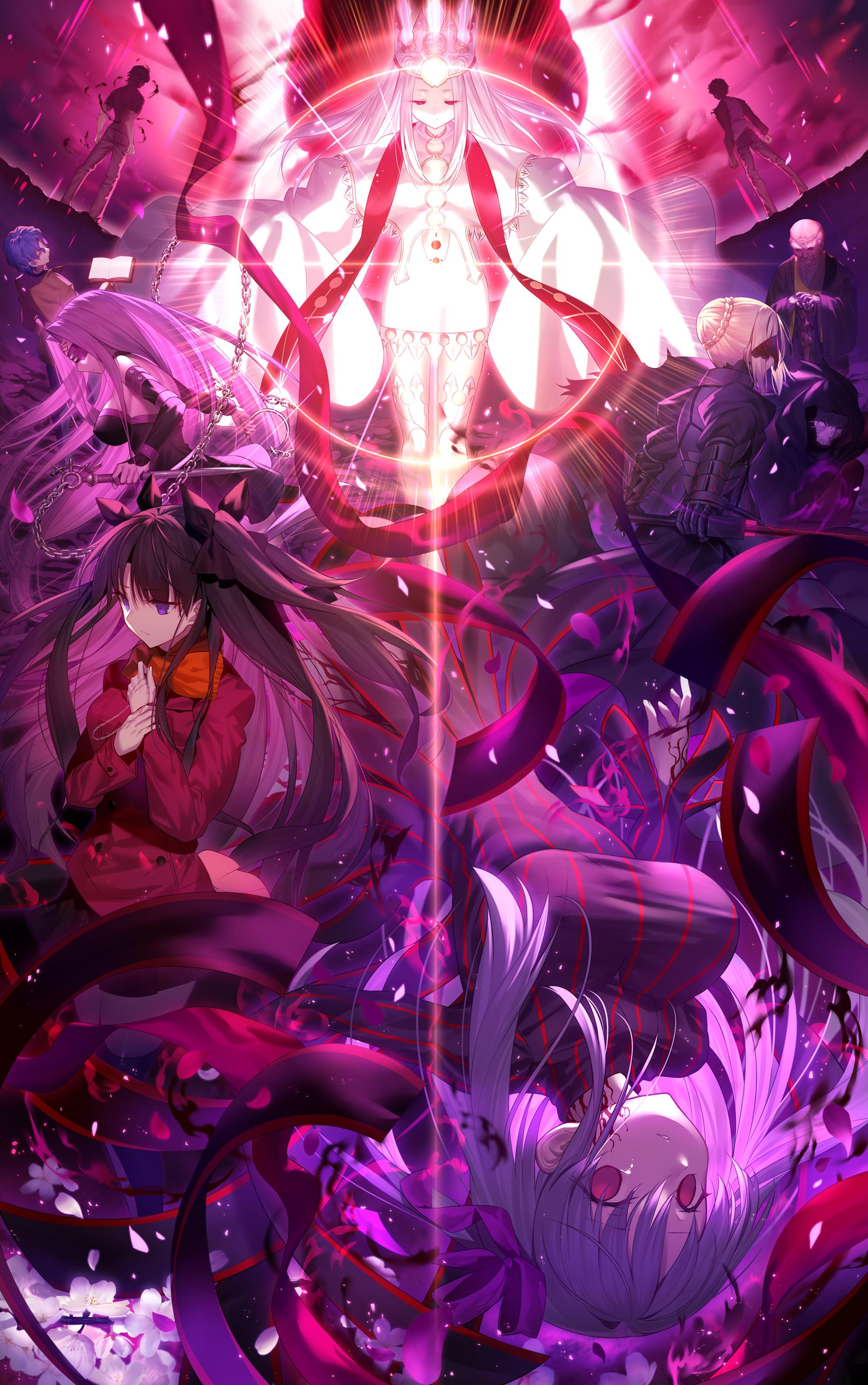 Fate//stay night spring song Promotional Poster Heaven/'s Feel III