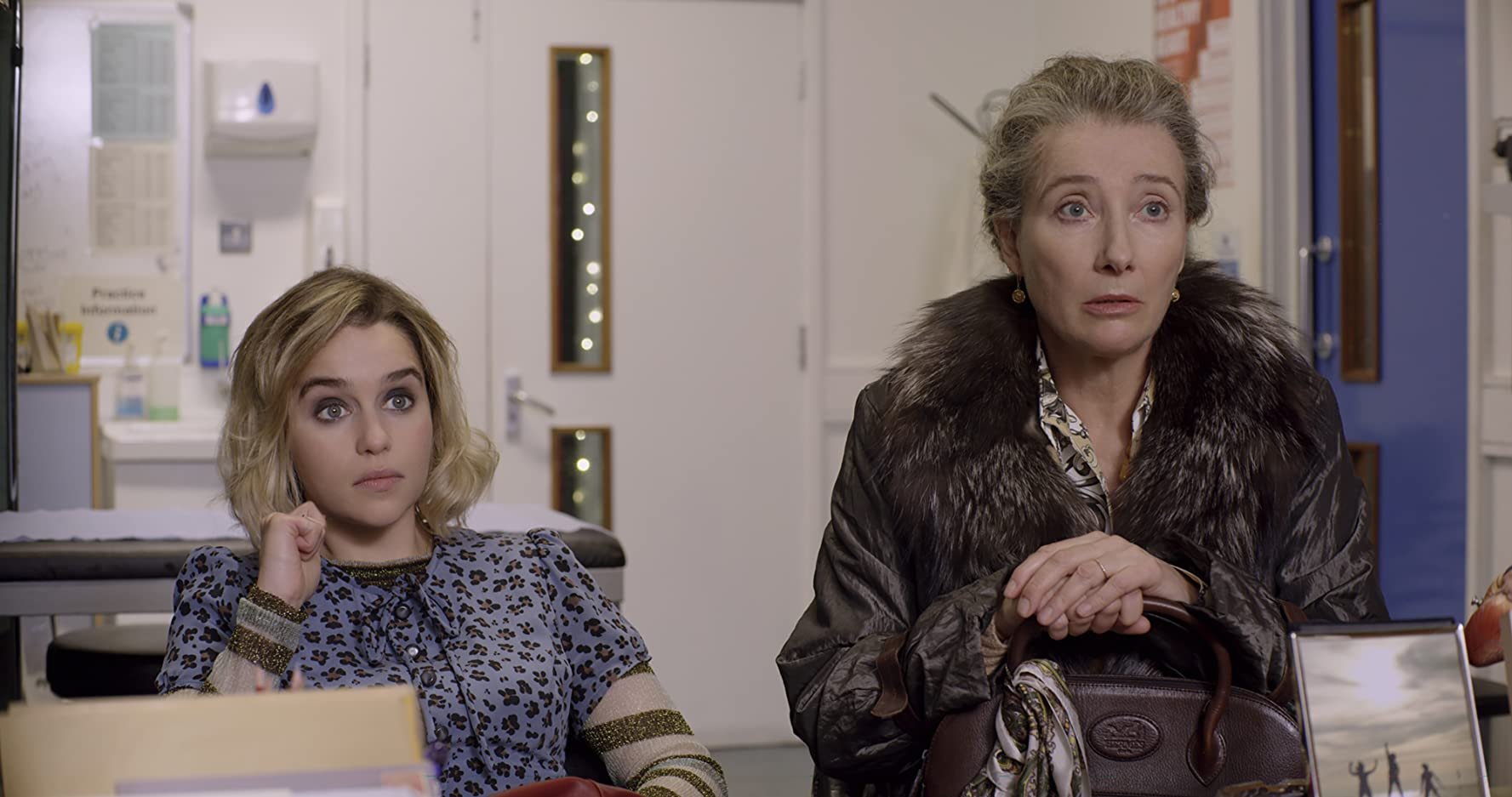 Emma Thompson and Emilia Clarke in Last Christmas (2019)
