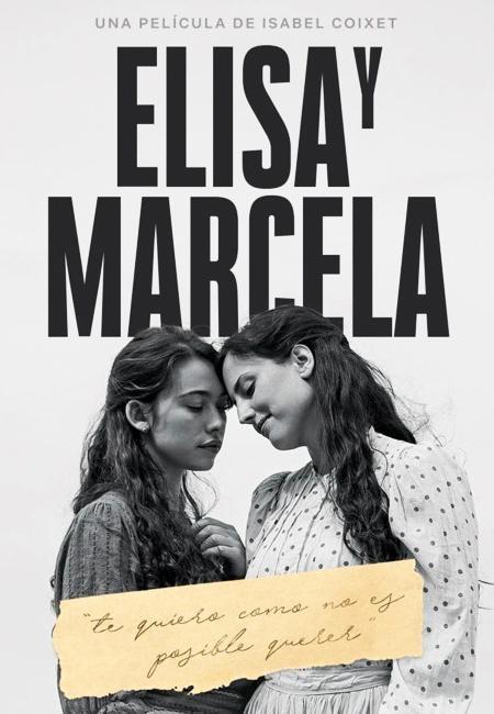 Greta Fernández and Natalia de Molina in Elisa y Marcela (2019)