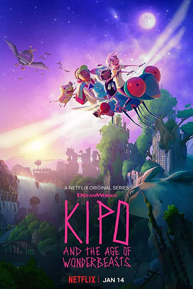 Kipo and the Age of Wonderbeasts (2020) English S01 NF WEB-DL x265 AAC Esub