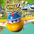 Johnny Yong Bosch, Joey D'Auria, Yuri Lowenthal, Alicyn Packard, Phil Lollar, Melissa Hutchison, and Meyer DeLeeuw in Space Racers (2014)