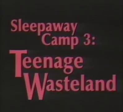 teenage wasteland summary